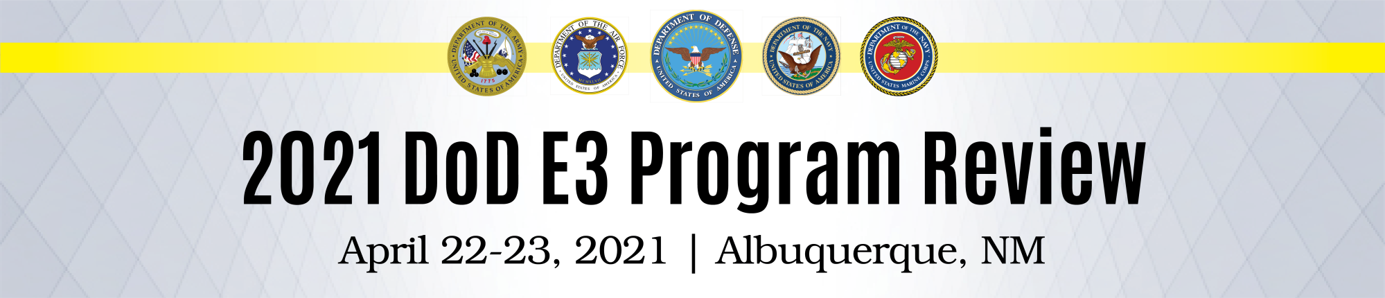 DoD Electromagnetic Environmental Effects (DoD E3) Program Review 2019